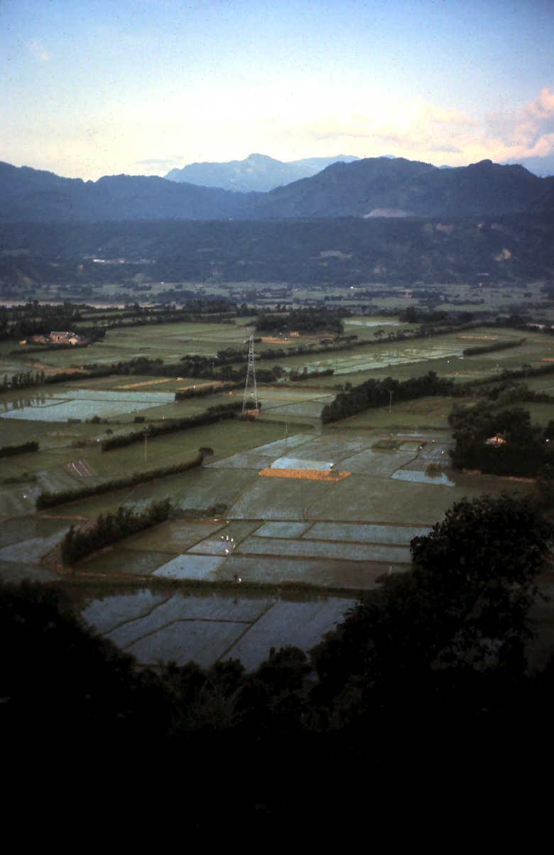 The scenic valley near Shih Yuan in 1972