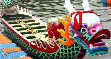 Dragon boat in Taiwan