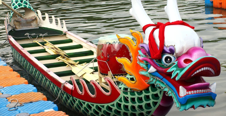 Dragon boat in Taiwan
