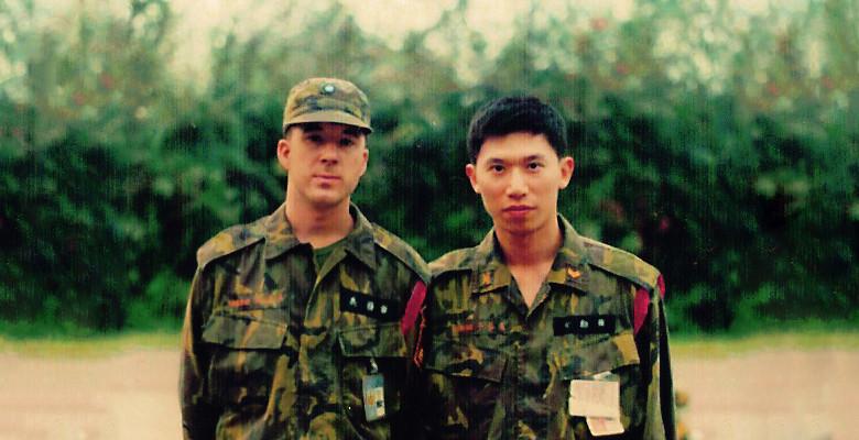 TC Locke and friend